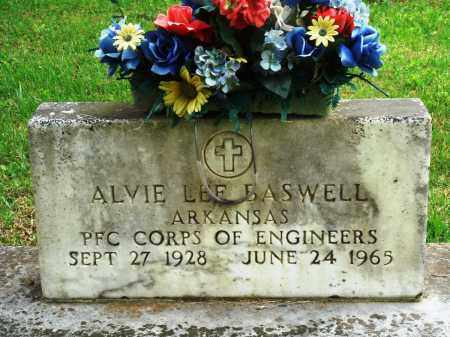 BASWELL (VETERAN), ALVIE LEE - Perry County, Arkansas | ALVIE LEE BASWELL (VETERAN) - Arkansas Gravestone Photos