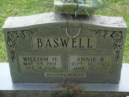BASWELL, ANNIE B - Perry County, Arkansas | ANNIE B BASWELL - Arkansas Gravestone Photos