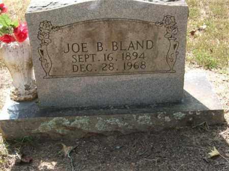BLAND, JOE B. - Perry County, Arkansas | JOE B. BLAND - Arkansas Gravestone Photos