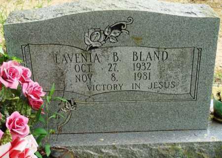 BLAND, LAVENIA B - Perry County, Arkansas | LAVENIA B BLAND - Arkansas Gravestone Photos
