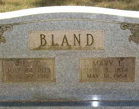 CARDEN BLAND, MARY L. - Perry County, Arkansas | MARY L. CARDEN BLAND - Arkansas Gravestone Photos