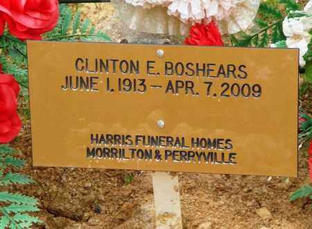 BOSHEARS, CLINTON E - Perry County, Arkansas | CLINTON E BOSHEARS - Arkansas Gravestone Photos