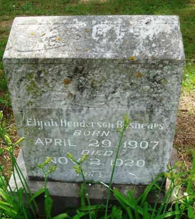 BOSHEARS, ELIJAH HENDERSON - Perry County, Arkansas   ELIJAH HENDERSON BOSHEARS - Arkansas Gravestone Photos
