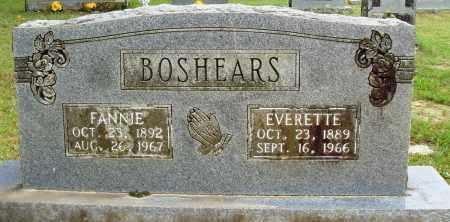 BOSHEARS, EVERETTE - Perry County, Arkansas   EVERETTE BOSHEARS - Arkansas Gravestone Photos