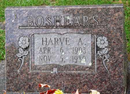 BOSHEARS, HARVE A - Perry County, Arkansas   HARVE A BOSHEARS - Arkansas Gravestone Photos