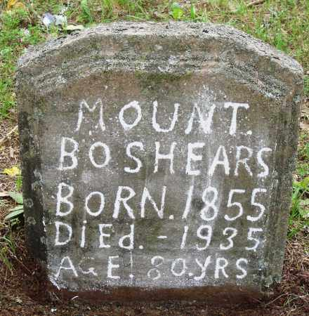 BOSHEARS, MOUNT - Perry County, Arkansas | MOUNT BOSHEARS - Arkansas Gravestone Photos
