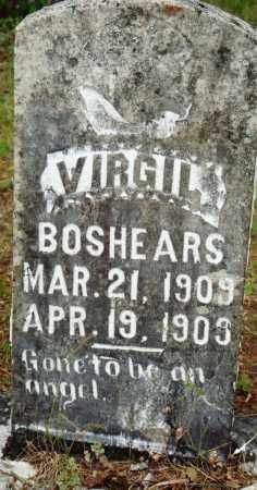BOSHEARS, VIRGIL - Perry County, Arkansas | VIRGIL BOSHEARS - Arkansas Gravestone Photos