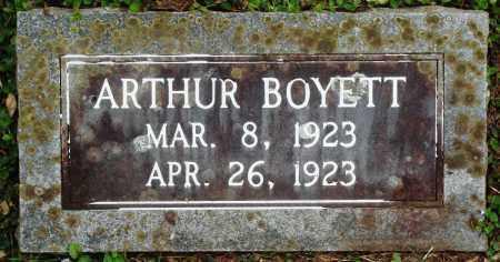 BOYETT, ARTHUR - Perry County, Arkansas | ARTHUR BOYETT - Arkansas Gravestone Photos