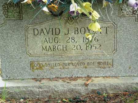 BOYETT, DAVID J - Perry County, Arkansas   DAVID J BOYETT - Arkansas Gravestone Photos