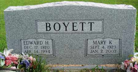 BOYETT, MARY K - Perry County, Arkansas | MARY K BOYETT - Arkansas Gravestone Photos