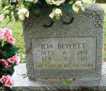BOYETT, IDA - Perry County, Arkansas | IDA BOYETT - Arkansas Gravestone Photos