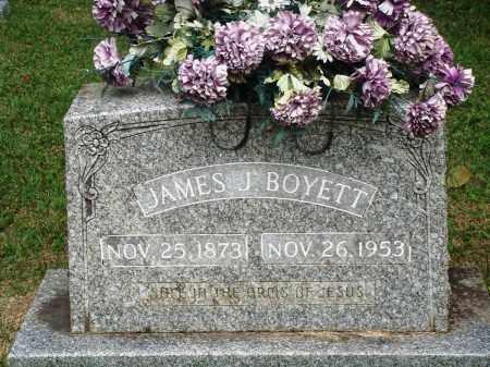 BOYETT, JAMES J - Perry County, Arkansas   JAMES J BOYETT - Arkansas Gravestone Photos
