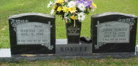 BOYETT, JOHN DEWITT - Perry County, Arkansas | JOHN DEWITT BOYETT - Arkansas Gravestone Photos