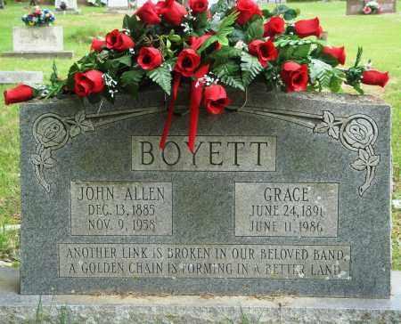 BOYETT, JOHN ALLEN - Perry County, Arkansas | JOHN ALLEN BOYETT - Arkansas Gravestone Photos