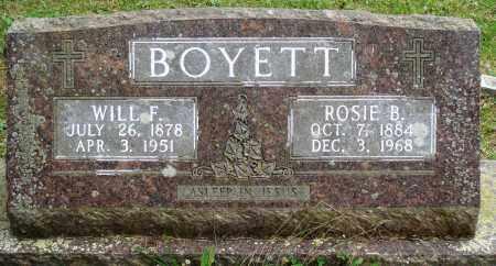 BOYETT, ROSIE B - Perry County, Arkansas | ROSIE B BOYETT - Arkansas Gravestone Photos