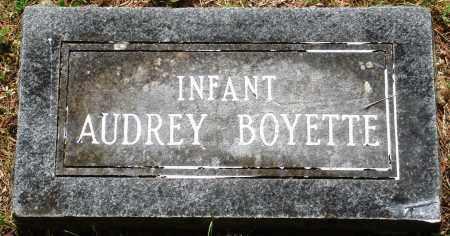 BOYETTE, AUDREY - Perry County, Arkansas   AUDREY BOYETTE - Arkansas Gravestone Photos