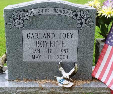 BOYETTE, GARLAND JOEY - Perry County, Arkansas | GARLAND JOEY BOYETTE - Arkansas Gravestone Photos