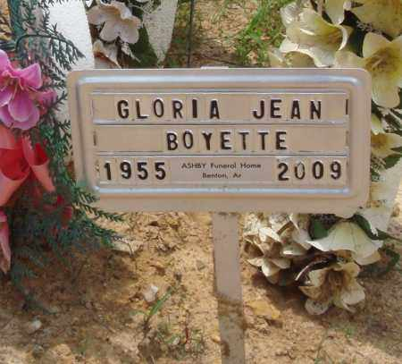 BOYETTE, GLORIA JEAN - Perry County, Arkansas | GLORIA JEAN BOYETTE - Arkansas Gravestone Photos
