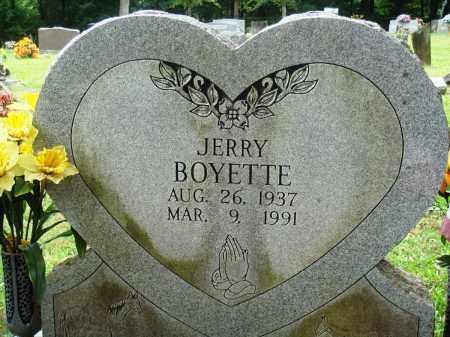 BOYETTE, JERRY - Perry County, Arkansas | JERRY BOYETTE - Arkansas Gravestone Photos