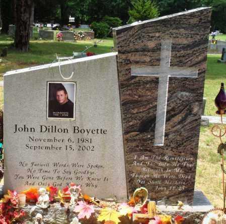 BOYETTE, JOHN DILLON - Perry County, Arkansas | JOHN DILLON BOYETTE - Arkansas Gravestone Photos