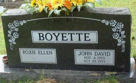 BOYETTE, JOHN DAVID - Perry County, Arkansas   JOHN DAVID BOYETTE - Arkansas Gravestone Photos