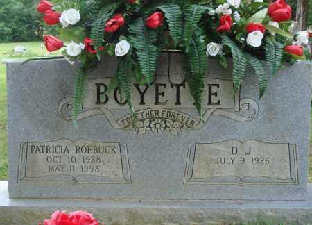 BOYETTE, PATRICIA - Perry County, Arkansas | PATRICIA BOYETTE - Arkansas Gravestone Photos