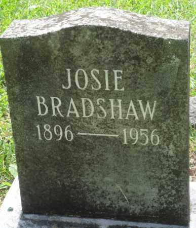 BRADSHAW, JOSIE - Perry County, Arkansas | JOSIE BRADSHAW - Arkansas Gravestone Photos