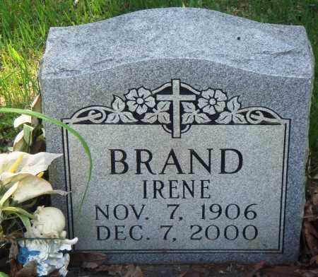 BRAND, IRENE - Perry County, Arkansas | IRENE BRAND - Arkansas Gravestone Photos