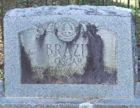 BRAZIL, OSCAR - Perry County, Arkansas   OSCAR BRAZIL - Arkansas Gravestone Photos