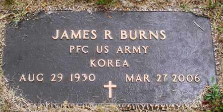 BURNS (VETERAN KOR), JAMES R - Perry County, Arkansas | JAMES R BURNS (VETERAN KOR) - Arkansas Gravestone Photos