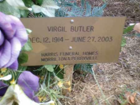 BUTLER, VIRGIL - Perry County, Arkansas   VIRGIL BUTLER - Arkansas Gravestone Photos