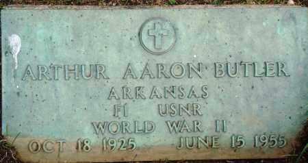 BUTLER (VETERAN WWII), ARTHUR AARON - Perry County, Arkansas | ARTHUR AARON BUTLER (VETERAN WWII) - Arkansas Gravestone Photos