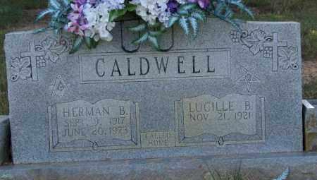 CALDWELL, HERMAN B. - Perry County, Arkansas | HERMAN B. CALDWELL - Arkansas Gravestone Photos