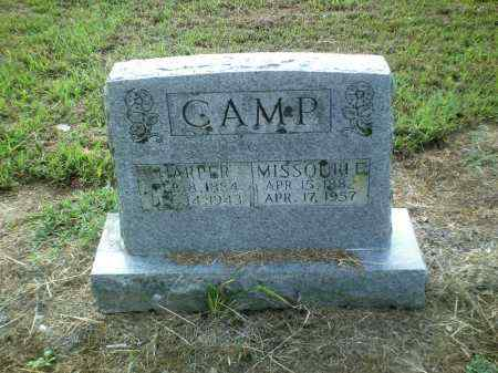 CAMP, MISSOURI E. - Perry County, Arkansas   MISSOURI E. CAMP - Arkansas Gravestone Photos