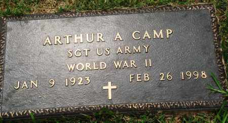 CAMP (VETERAN WWII), ARTHUR A - Perry County, Arkansas | ARTHUR A CAMP (VETERAN WWII) - Arkansas Gravestone Photos