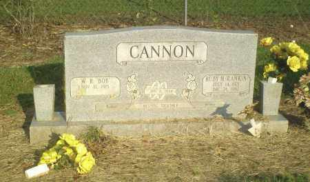 CANNON, RUBY M. - Perry County, Arkansas | RUBY M. CANNON - Arkansas Gravestone Photos