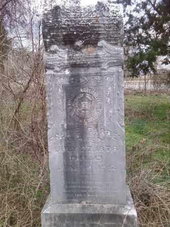 CARDEN, FRED E. - Perry County, Arkansas | FRED E. CARDEN - Arkansas Gravestone Photos