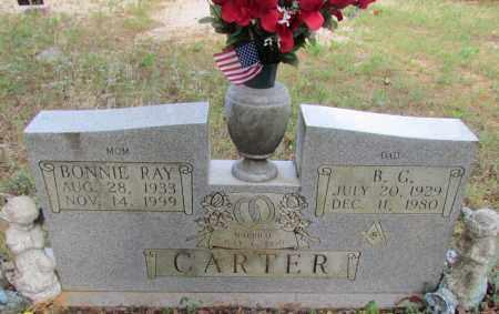 CARTER, BONNIE RAY - Perry County, Arkansas | BONNIE RAY CARTER - Arkansas Gravestone Photos