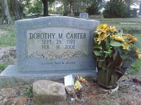 CARTER, DOROTHY M. - Perry County, Arkansas | DOROTHY M. CARTER - Arkansas Gravestone Photos