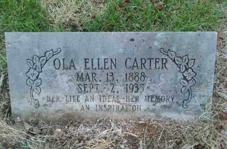 CARTER, OLA ELLEN - Perry County, Arkansas | OLA ELLEN CARTER - Arkansas Gravestone Photos