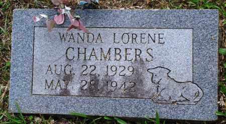 CHAMBERS, WANDA LORENE - Perry County, Arkansas | WANDA LORENE CHAMBERS - Arkansas Gravestone Photos