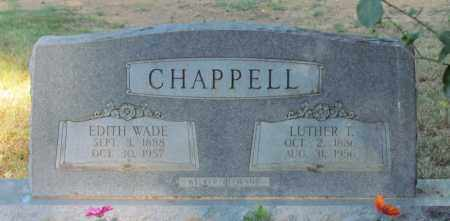 CHAPPELL, EDITH - Perry County, Arkansas | EDITH CHAPPELL - Arkansas Gravestone Photos