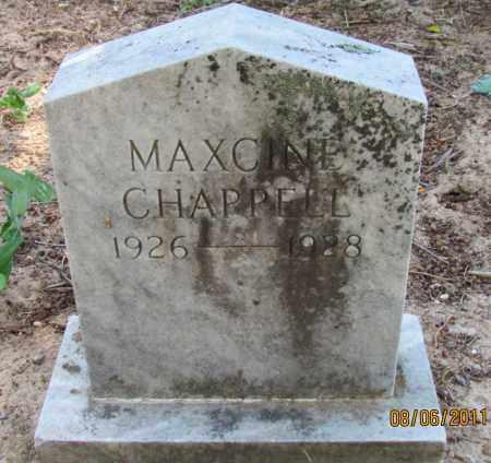 CHAPPELL, MAXCINE - Perry County, Arkansas   MAXCINE CHAPPELL - Arkansas Gravestone Photos