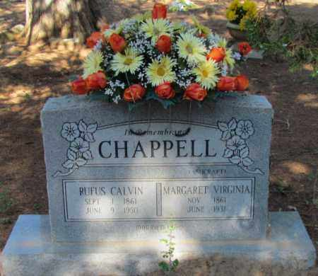 CHAPPELL, MARGARET VIRGINIA - Perry County, Arkansas | MARGARET VIRGINIA CHAPPELL - Arkansas Gravestone Photos