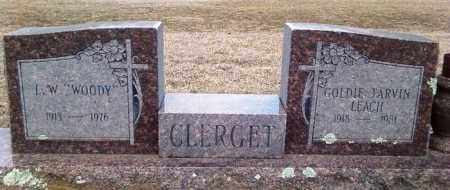 TARVIN CLERGET, GOLDIE - Perry County, Arkansas | GOLDIE TARVIN CLERGET - Arkansas Gravestone Photos