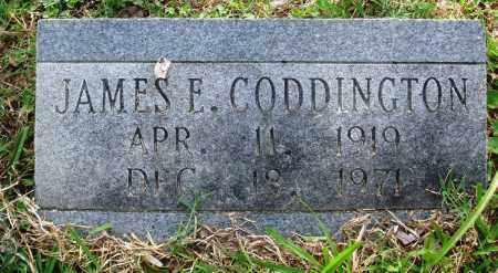CODDINGTON, JAMES E - Perry County, Arkansas | JAMES E CODDINGTON - Arkansas Gravestone Photos