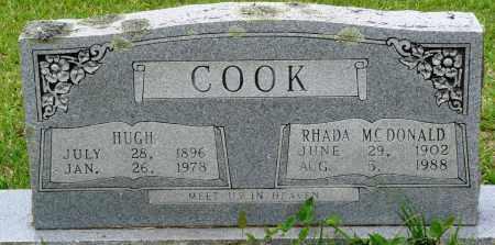 COOK, RHADA - Perry County, Arkansas | RHADA COOK - Arkansas Gravestone Photos