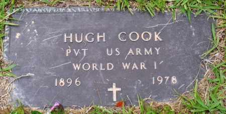 COOK (VETERAN WWI), HUGH - Perry County, Arkansas   HUGH COOK (VETERAN WWI) - Arkansas Gravestone Photos