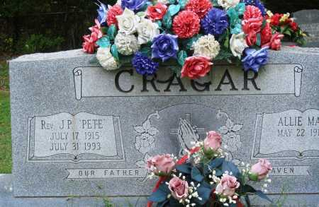 "CRAGAR, J P ""PETE"" - Perry County, Arkansas   J P ""PETE"" CRAGAR - Arkansas Gravestone Photos"