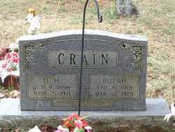 CRAIN, O. H. - Perry County, Arkansas | O. H. CRAIN - Arkansas Gravestone Photos